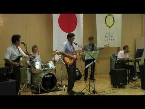 8月23日(水)、大森ロータリークラブの例会での「ネプチューン」の演奏から、「Beatles」曲の部です。
