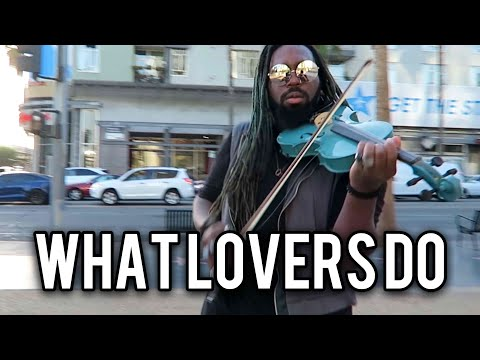 What Lovers Do - Maroon 5 ft. SZA (Violin Cover) | DSharp