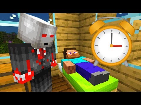 Leaving my Minecraft world on all night..