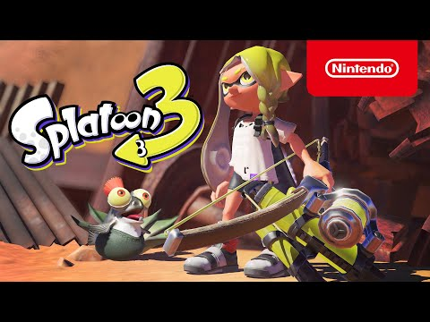 Splatoon 3 – announcement trailer (Nintendo Switch)