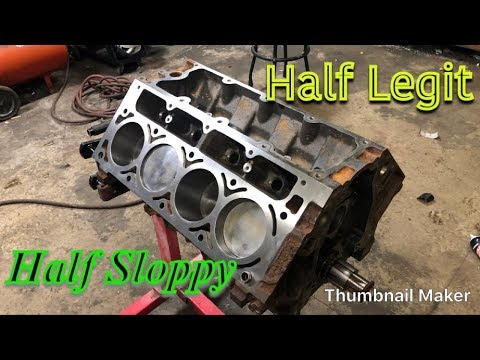 Stock Bottom End LS 4.8 Build For BIG BOOST!