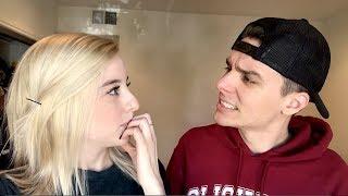 boyfriends reaction to my new hair!