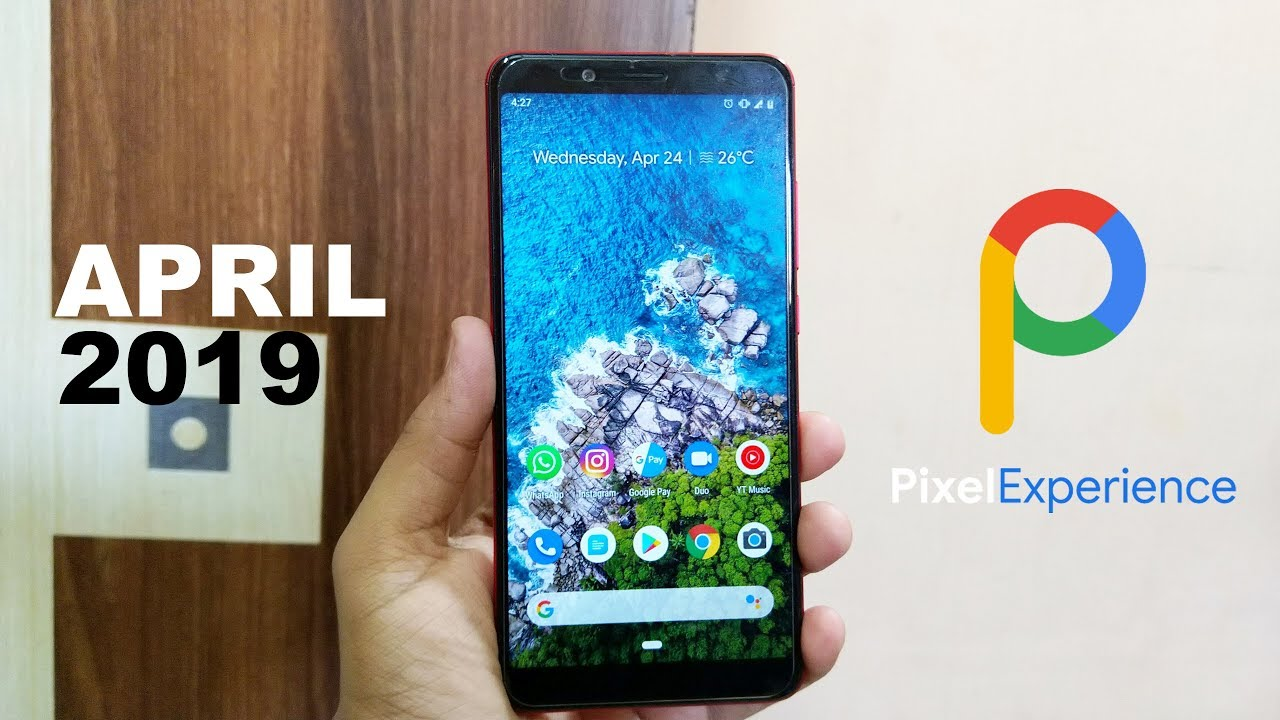 Pixel Experience 9 0 Pie For Redmi Note 5 Pro || April 2019 Build