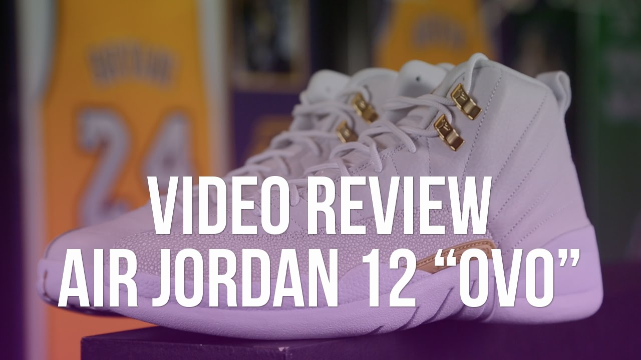 sports shoes 1ae7a f4030 Air Jordan 12 OVO Video Review - YouTube