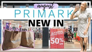 NEW IN PRIMARK AUGUST 2019 | COME SHOP WITH ME & TRY ON