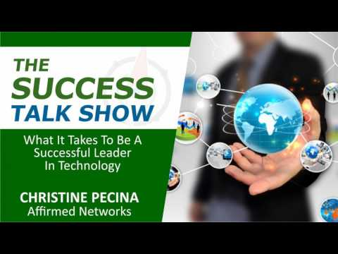 What It Takes To Be A Successful Leader In Technology, with Christine Pecina of Affirmed...
