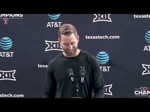 Coach Kingsbury Press Conference - 9/18