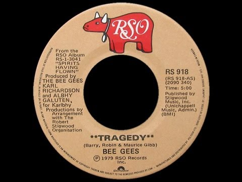 The Bee Gees ~ Tragedy 1979 Disco Purrfection Version