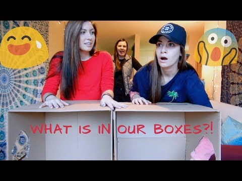 WHAT'S IN OUR BOXES?! | (*hilarious reactions*)