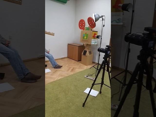 Первые съёмки в BOSSTUDIO38