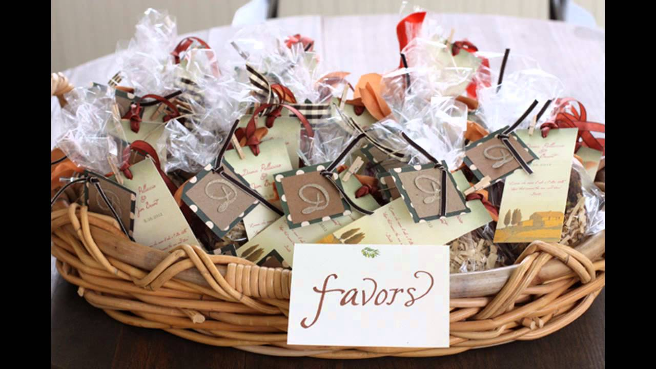 Best Bridal shower favors decorating ideas - YouTube