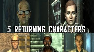FALLOUT 4: 5 Potential Characters Returning From FALLOUT 3/NV!
