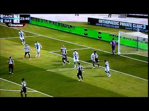 ΠΑΟΚ-ΠΑΣ Γιαννινα  1-1  Ηighlights 26/4/2015 goal