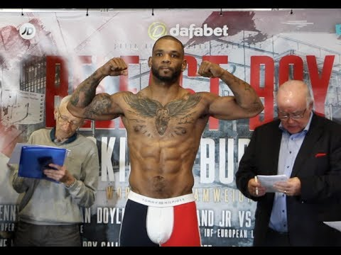 ABSOLUTE BEAST .. NO WEIGHT ISSUE HERE! - MIKE PEREZ WEIGHS IN AHEAD OF CLASH IN BELFAST