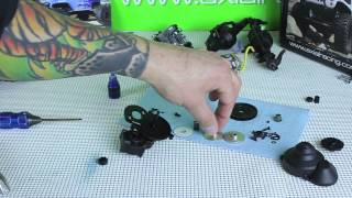 Axial Scx10 Jeep Wrangler G6 Transmission Build