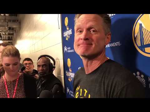 Steve Kerr asks media to stop covering LaVar Ball and President Donald Trump