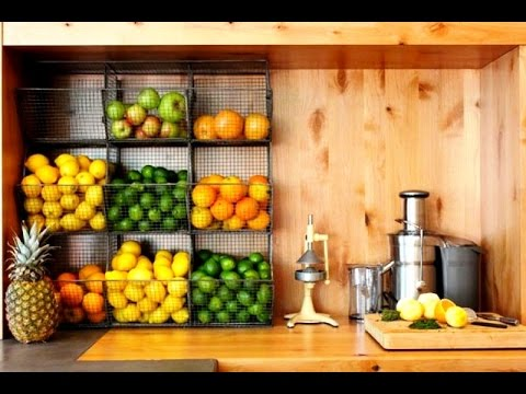 35 Fruit & Vegetables Storage Ideas