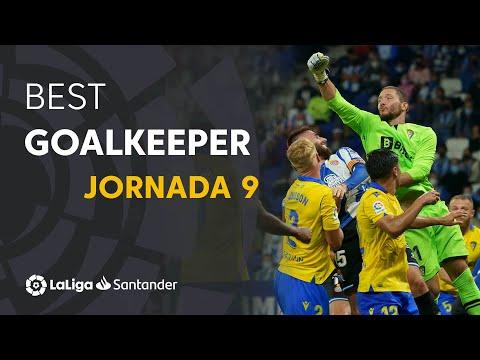 LaLiga Best Goalkeeper Jornada 9: Jeremías Ledesma