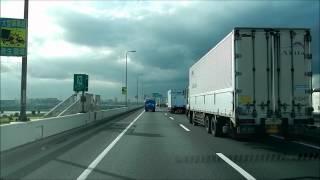 2012年8月4日(土) 首都高速にて撮影 7倍速の超速めです。 =ルート=有明→...