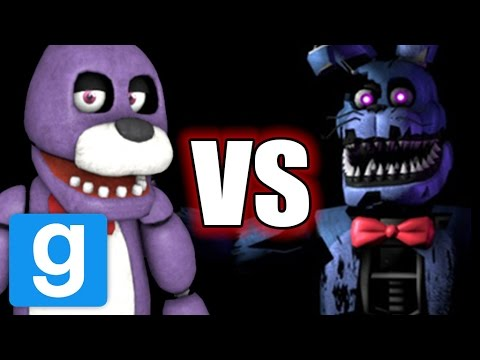 FNAF Gmod | BONNIE VS NIGHTMARE BONNIE - DEATH BATTLE (FNAF Garry's Mod) letöltés