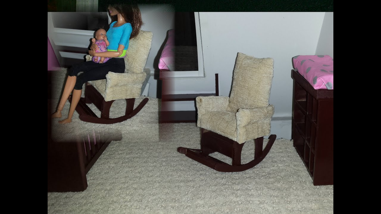 How To Make A Doll Nursery Rocking Chair
