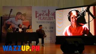 The Breakup Playlist Blogcon with Sarah Geronimo and Piolo Pascual Part 2