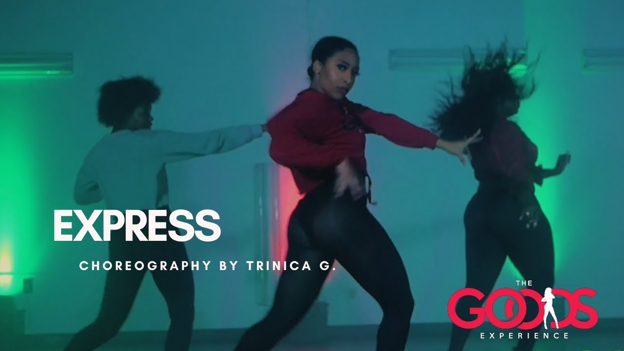 EXPRESS - Burlesque Christina Aguilera Choreography by Trinica G.