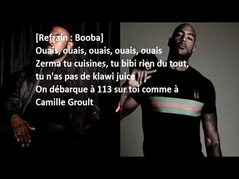 Booba 113 feat Damso (PAROLE/LYRICS)