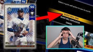 LOSE AND I QUICKSELL 99 GRIFFEY!! MLB The Show 17 | Battle Royale