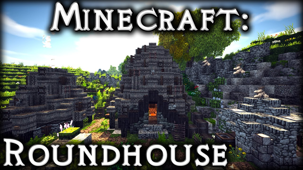 Minecraft Celtic Roundhouse Tutorial 2 Youtube