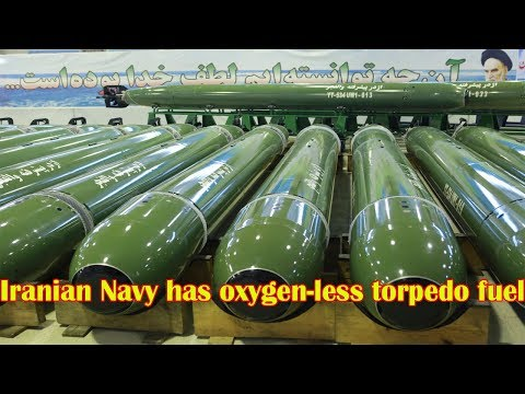 Iran Unveils Tech for Oxygen less Firing of Torpedos Under water