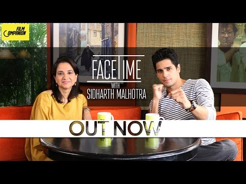 Sidharth Malhotra Interview with Anupama Chopra | Face Time
