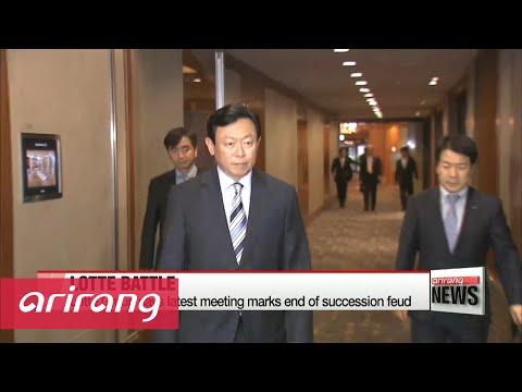 Giant succession battle at Lotte Group