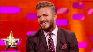 David Beckham Laughs At His Embarrassing Haircuts  - The Graham Norton Show