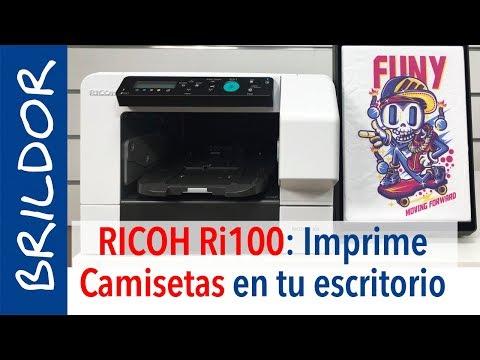 Impresora De Camisetas RICOH Ri100: La DTG Más Compacta Y Económica