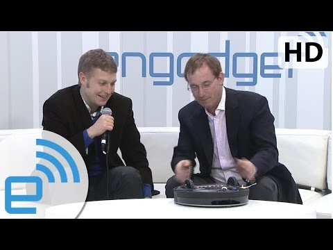 iRobot's CEO Colin Angle at CES 2014 | Engadget