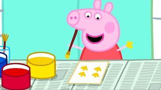 Peppa Pig Français | La Peinture | 3 Épisodes | Dessin Animé Pour Bébé