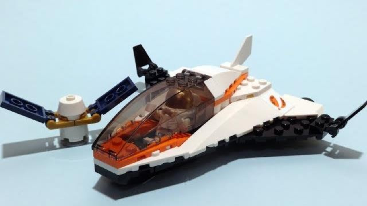 lego space shuttle speed build - photo #2