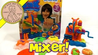 Nickelodeon GAK Color Mixer Play Set - Yakkity Yellow, Rebel Red, & Goo Green