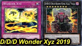 Gambar cover 【YGOPRO】D/D/D WONDER XYZ DECK 2019