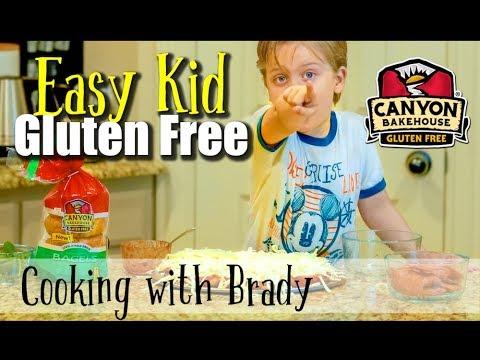 Kid Cooks GLUTEN FREE! | Easy Gluten Free Recipes For Kids!