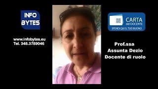 Feedback video Prof.ssa Dezio Assunta