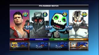 Playstation All-Stars Battle Royale ranked match 23