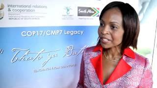 COP18: Maite Nkoana-Mashabane, South Africa