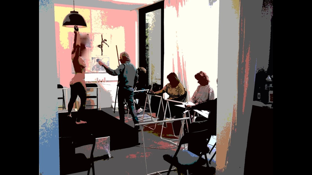 stages de croquis l 39 atelier d 39 art la rochelle youtube. Black Bedroom Furniture Sets. Home Design Ideas