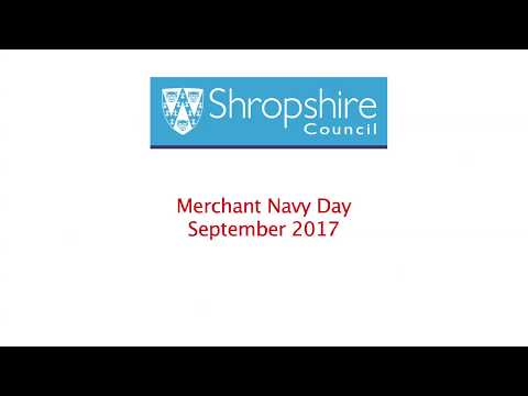 Shropshire Council - Merchant Navy Day