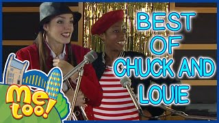 Me Too! - Best of Chuck and Louie | Full Episode | TV Show for Kids