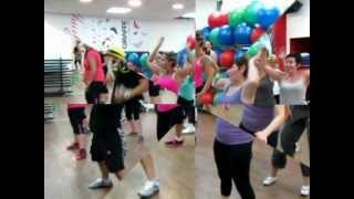 zumba®fitness class with sahar Getting nasty