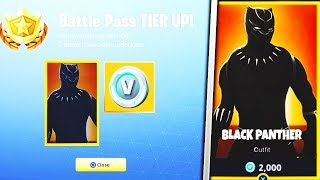 "Come sbloccare la pelle segreta ""Black Panther"" in Fortnite! Nuove skin libere di Fortnite! #USKRC"