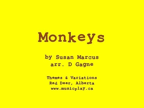 Monkeys - Movement song with Lyric Video
